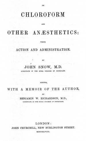 On Chloroform And Other Ansthetics